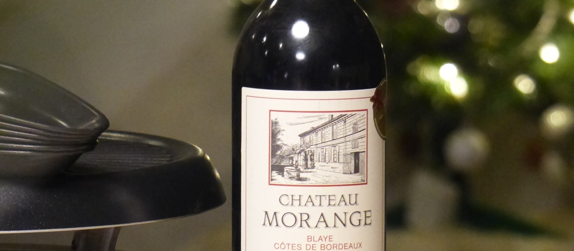 Chateau Morange Blaye Côtes de Bordeau