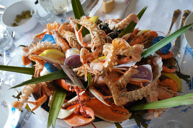 Plateau de fruits de mer - chateau morange blaye cotes de bordeaux