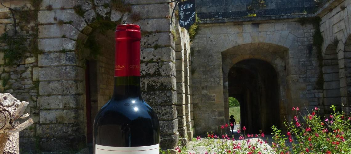 Château Morange Blaye côtes de Bordeaux